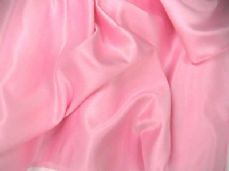 DUCHESS SATIN WEDDING BRIDAL DRESS FABRIC PER M PINK